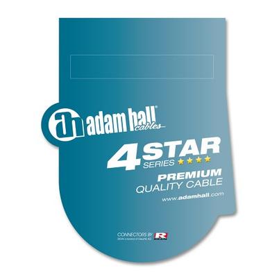 Audiokabel REAN 3,5 mm Klinke stereo auf 2 x Cinch male 1,5 m Adam Hall Cables